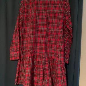 Plaid Zara Dress. Size 5.